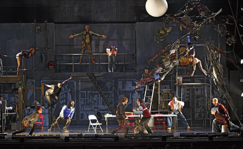 Rent musical 20th anniversary national tour;