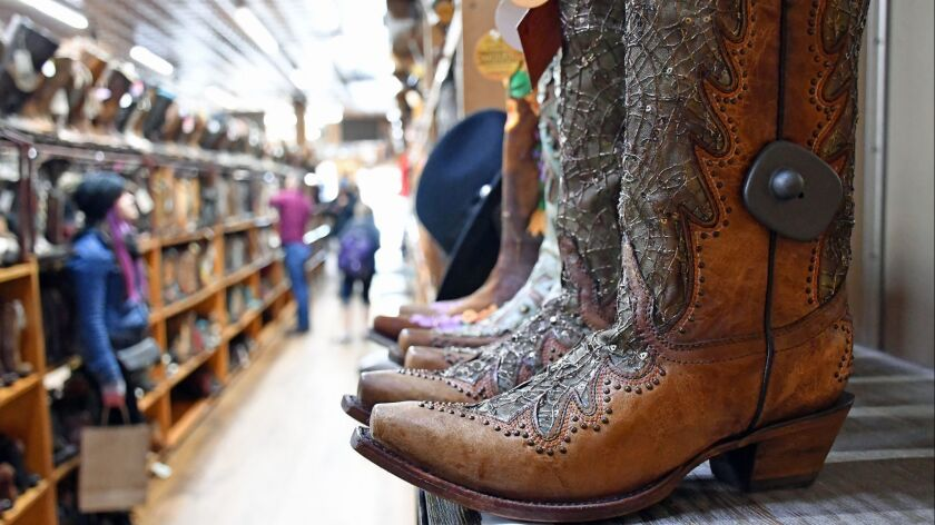 Allen Boots, South Congress Avenue, Austin.