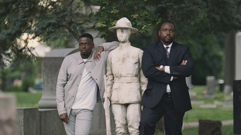 **FALL SNEAKS 2018***DO NOT USE PRIOR TO SEPTEMBER 2, 2018***Daniel Kaluuya and Brian Tyree Henry in