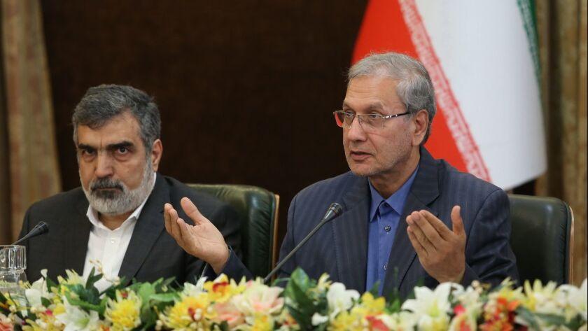 Iran announced will increase uranium enrichment, Tehran, Iran (Islamic Republic Of) - 07 Jul 2019