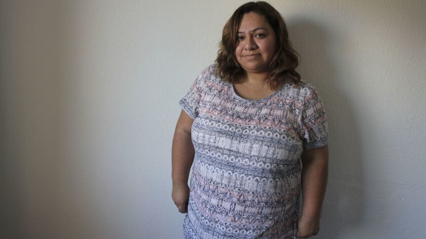 Paula Flores Colorado, 37, who self-deported to Mexico in 2009. Now, she's trying to return legally.