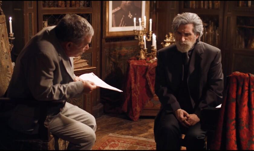 "Igor Polesitsky, left, and Hershey Felder in a scene from ""Hershey Felder: Tchaikovsky"""