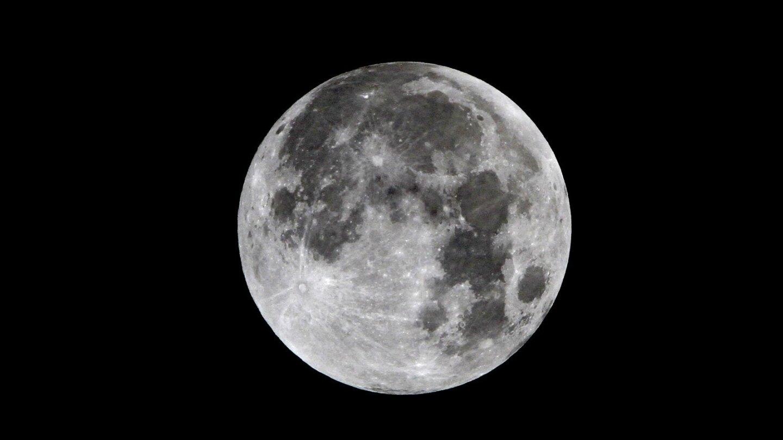 The lunar eclipse began at 1:15 a.m. PDT Oct. 8, 2014.