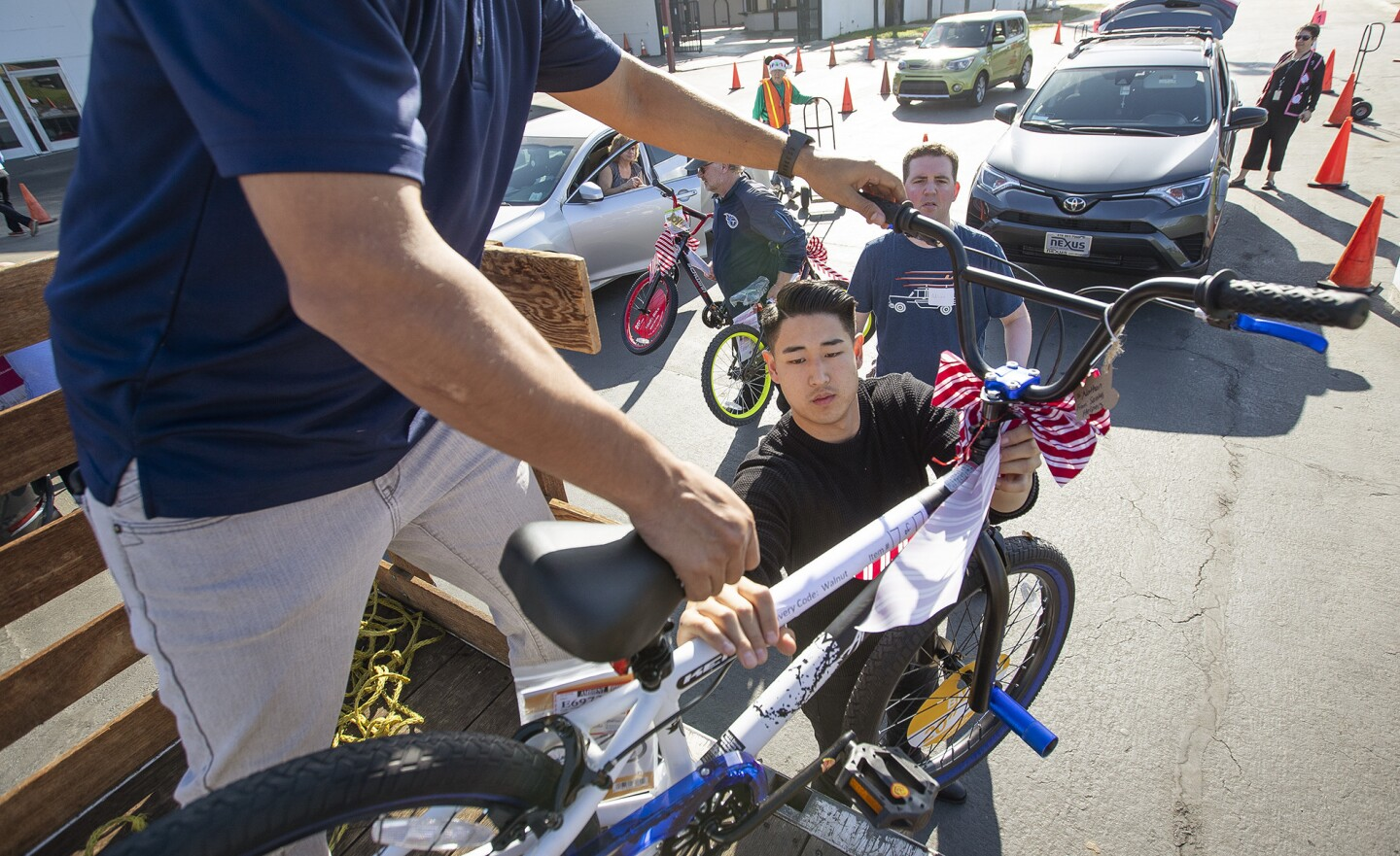 Photo Gallery: Share Our Selves (SOS) annual Adopt A Family Program