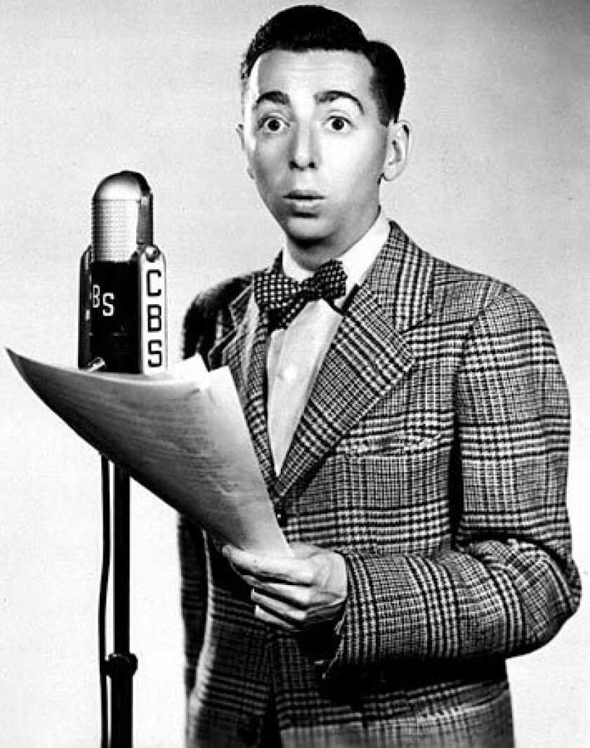 Arnold Stang was a radio, theater, film and television actor famous for his nerdy looks and demeanor.