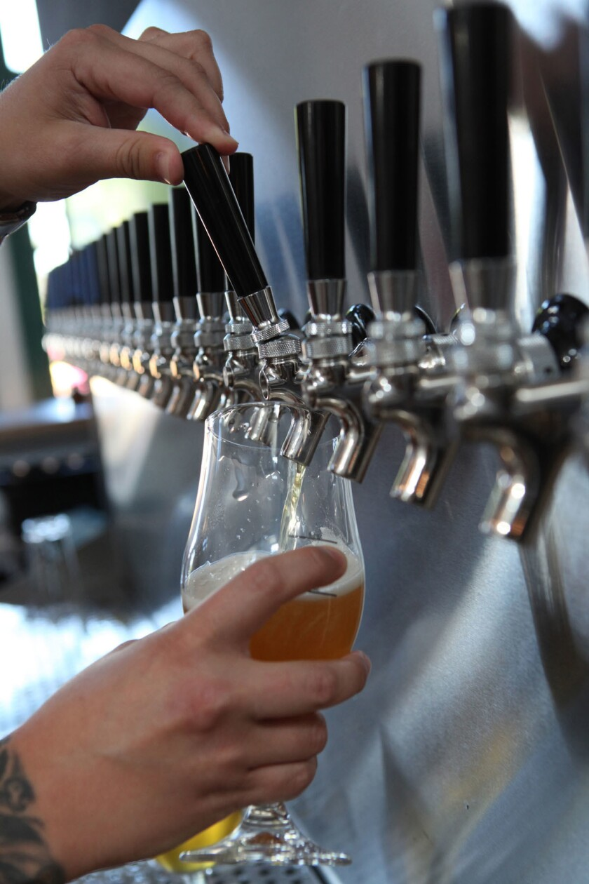 Bottlecraft's large selection of craft beers will get you through every touchdown.
