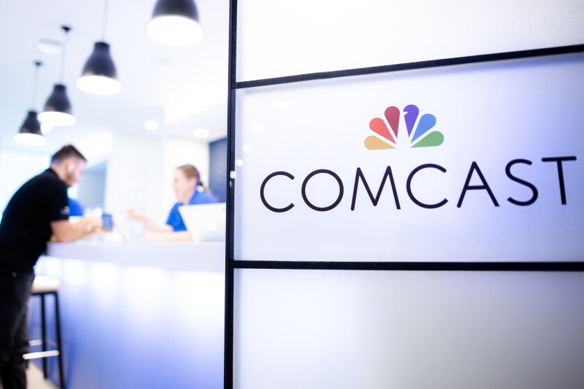 Philadelphia cable giant Comcast Corp. owns NBCUniversal.