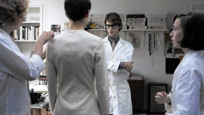 "Gaspard Ulliel as Yves Saint Laurent in the film ""Saint Laurent."""