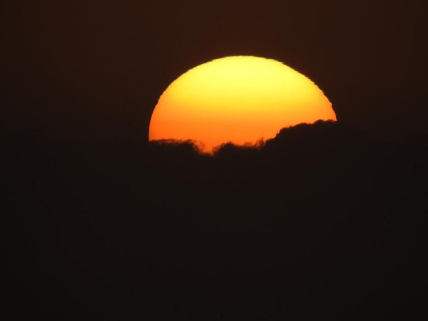 A heat wave will descend on San Diego County starting on Sunday.