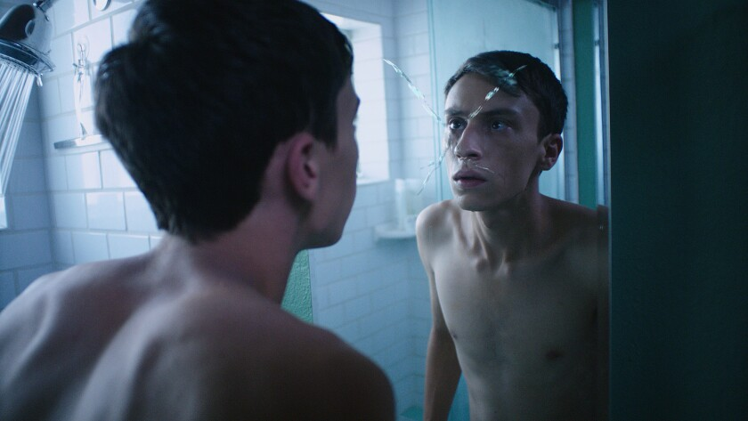 """Keir Gilchrist in the movie """"Dark Summer,"""" directed by Paul Solet."""