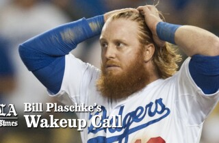 Bill Plaschke's Wakeup Call: Dodgers are out... again