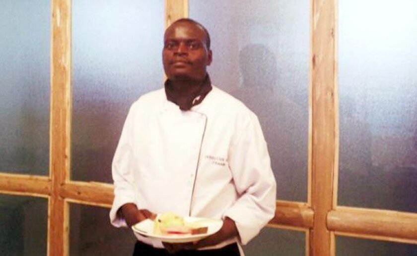 The Olubugo chef is Frank Kwesiga; this new Ugandan restaurant is the first overseas project from the Enlightened Hospitality Group.