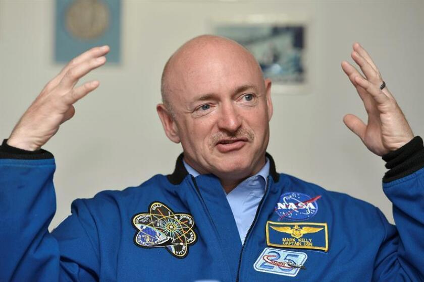 Mark Kelly, NASA astronaut. EFE/FILE