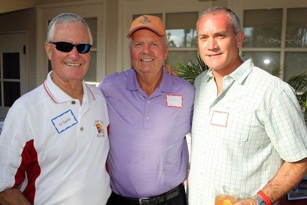 Ed Burke, Gene Hancock, Paul Gange