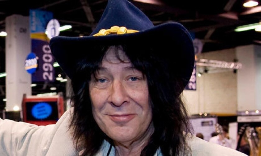 Andy Johns, a record producer who worked with the Rolling Stones, Led Zeppelin and many other rock bands, has died at 62.