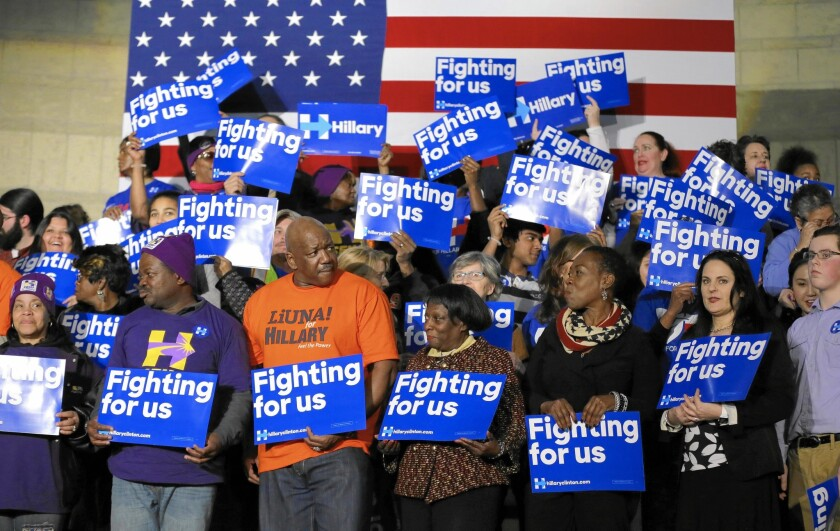 Black voters' familiarity with Hillary Clinton gives her an edge, though some fear being taken for granted.