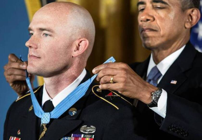 Medal of Honor recipient urges support for PTSD