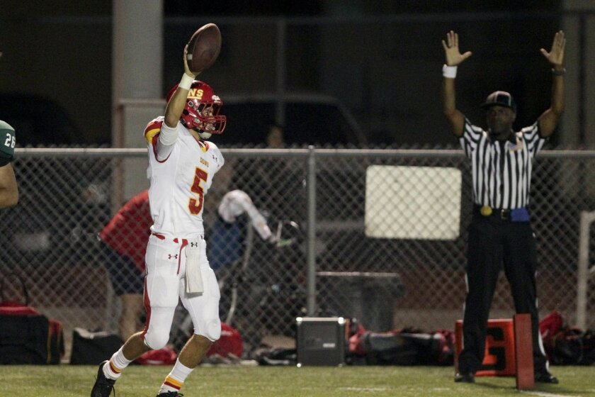 Cathedral Catholic's Drew Cowell has helped rejuvenate the Dons' offense.