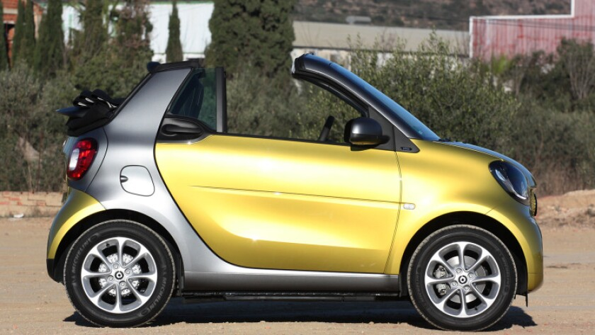 2017 smart for two cabriolet