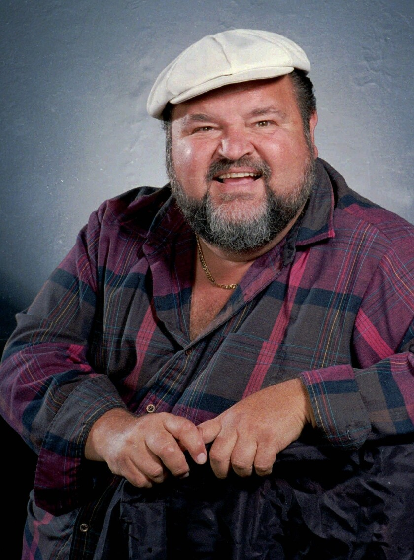 FILE - In this June 8, 1989 file photo, actor and comedian Dom DeLuise is shown. DeLuise died in Southern California on Monday, May 4, 2009, according to his son, Michael DeLuise. He was 75. (AP Photo, file) ORG XMIT: NYET565