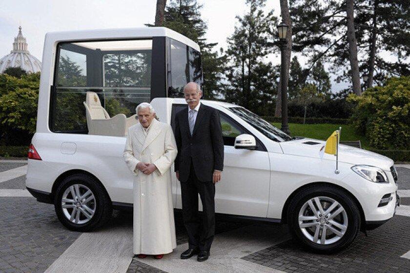 Mercedes-Benz Popemobile
