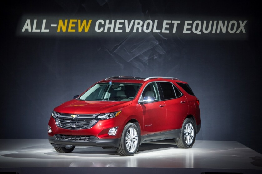 El Equinox del 2018 será el primer Chevy en ser vendido en América del Norte con los motores totalmente turbos.