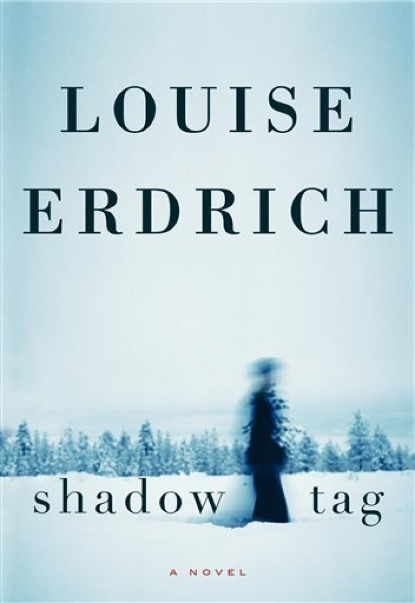 """In this book cover image released by HarperCollins, """"Shadow Tag"""" , by Louise Erdrich is shown. (AP Photo/HarperCollins)"""