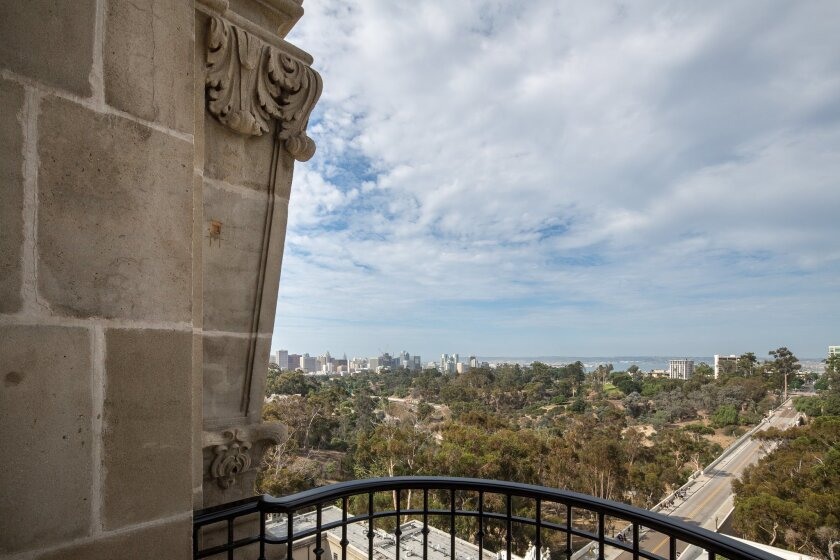 Access to the panoramic view from the top of the California Tower won the San Diego Museum of Man's the Grand Orchid this year. The stairs up the 200-foot tower had been closed to the public for some 80 years.