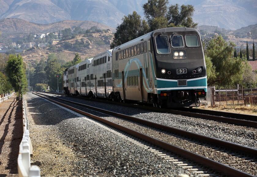 Metrolink trains