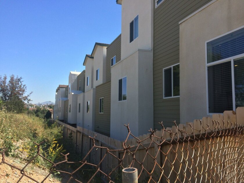 Gov. Jerry Brown's plan to give $400 million for subsidized housing, which is tied to several environmental review changes, appears to have failed. Pictured: Independence Point in Lincoln Park, the first subsidized housing complex in Southern California for people with developmental disabilities.