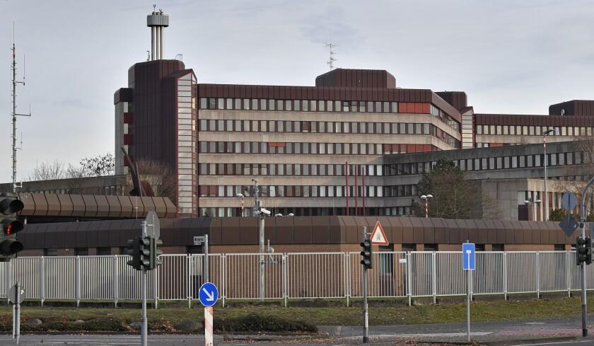 German intelligence headquarters