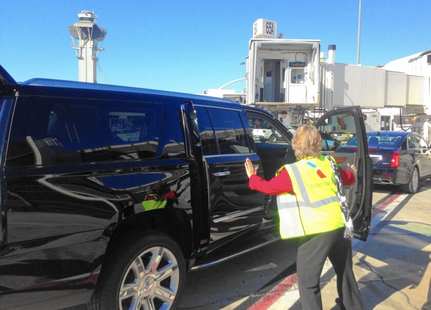 Airlines vie for VIP coast-to-coast travelers