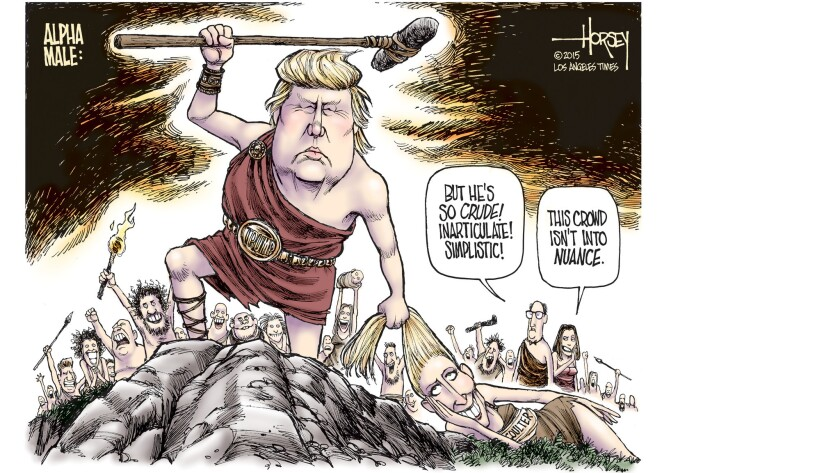Donald Trump is the alpha male many voters long for