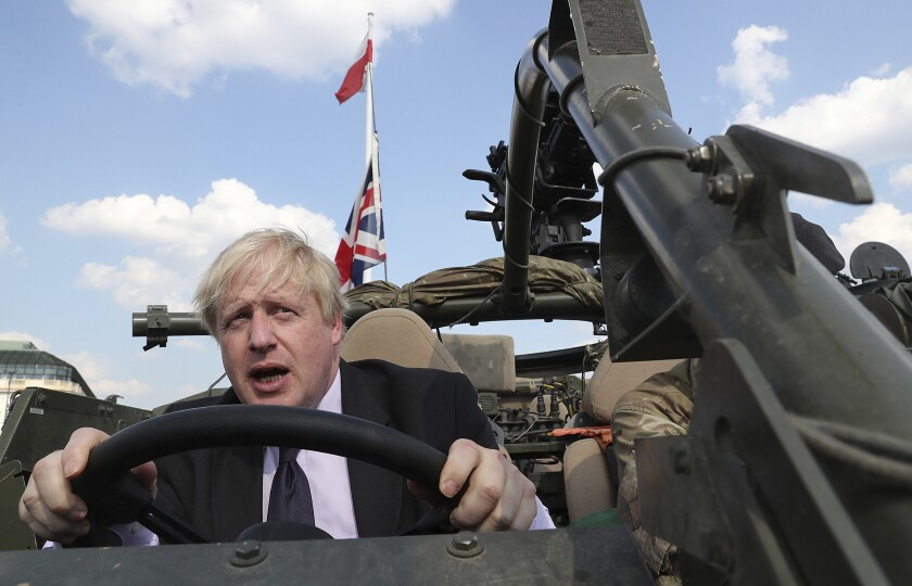Britain Brexit Election Boris Johnson