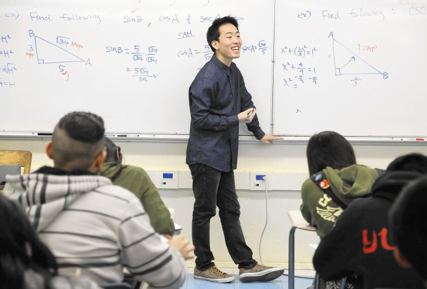 Lincoln High teacher Anthony Yom worked in virtual obscurity until the news last week that one of his students was among only 12 in the world to slay the Advanced Placement Calculus exam with a perfect score.