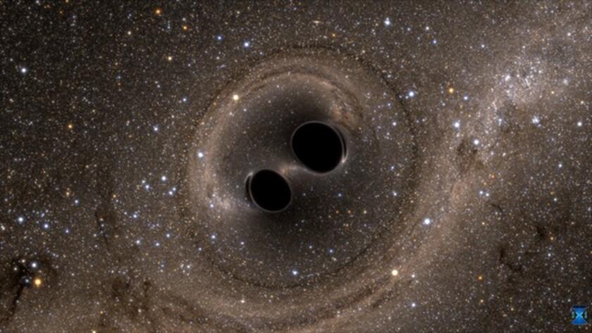 Scientists spot gravitational waves