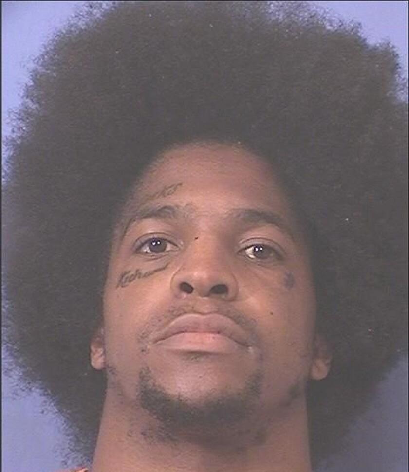 Titus Young mugshot