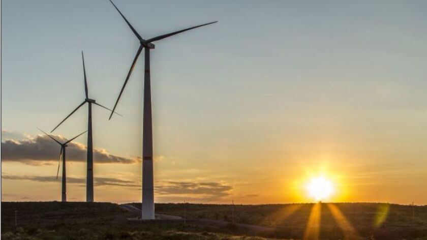 A subsidiary of Sempra Energy has completed a $900 deal to acquire a massive wind project in Mexico