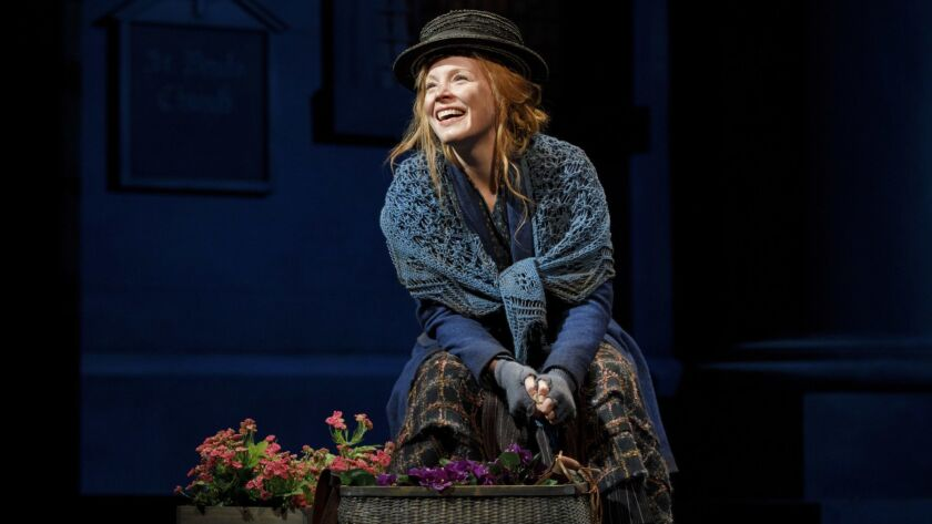 "Lauren Ambrose in her Tony-nominated turn as flower girl-turned-socialite Eliza Doolittle in the Lincoln Center Theater revival of ""My Fair Lady."""