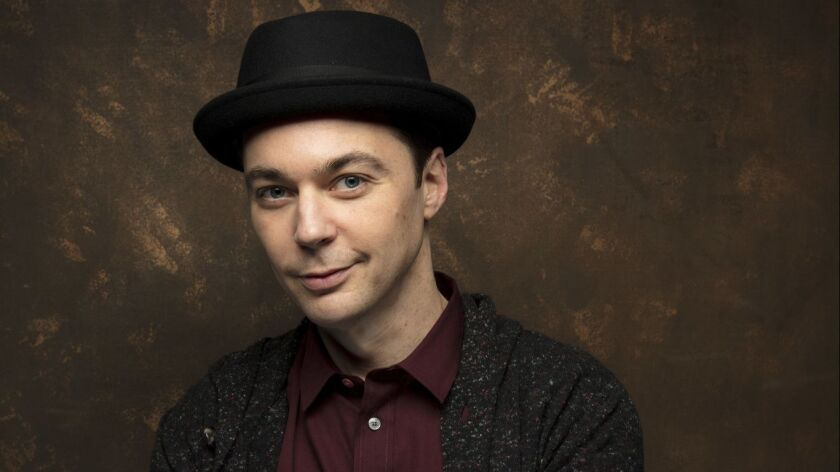 "Actor Jim Parsons photographed in January at the Sundance Film Festival in Park City, Utah. Parsons is part of the starry cast for Broadway's ""The Boys in the Band."""