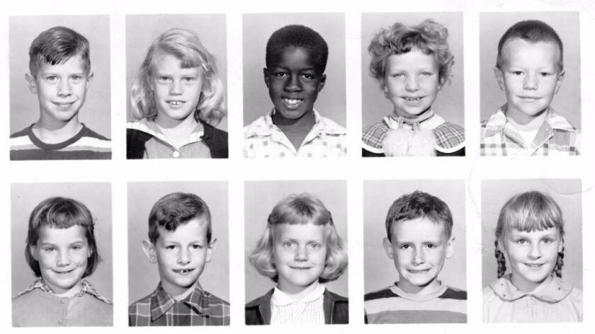 Some of the students in Mrs. Bett's class, 1954, La Jolla Elementary School