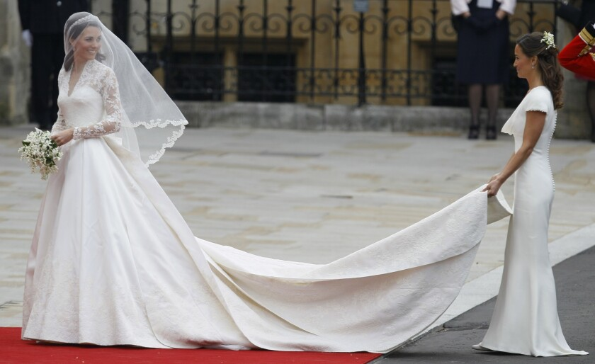 Pippa Middleton's popularity peaked thanks to her shapely backside being prominently displayed at sister Kate Middleton's royal wedding in April 2011.
