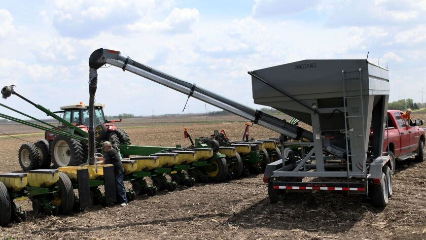 Stakes are high in soybean country if China adopts tariffs on U.S. agricultural exports