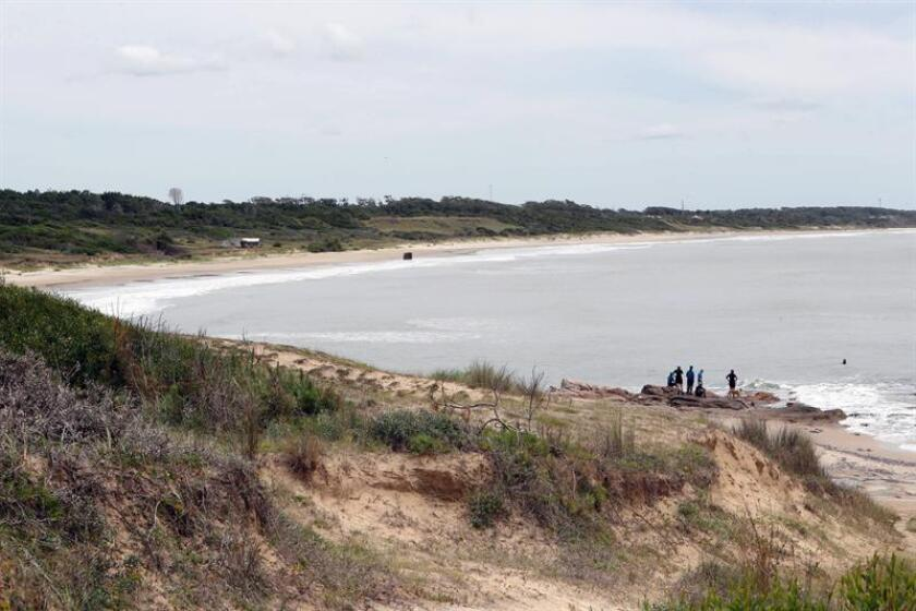 Photo taken Dec. 15, 2018, showing part of Uruguay's Cerro Verde coastal-maritime zone, which the province of Rocha is trying to develop as a tourist area, albeit in a responsible way. EFE-EPA/Ana Paula Chain