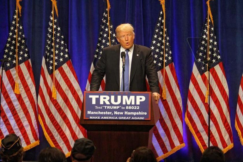Líderes republicanos evitaron hoy la revuelta de algunos delegados opuestos a la candidatura presidencial de Donald Trump, que querían que los representantes en la Convención Nacional del partido votaran al nominado que dictara su conciencia y no el resultado de las primarias en su estado.