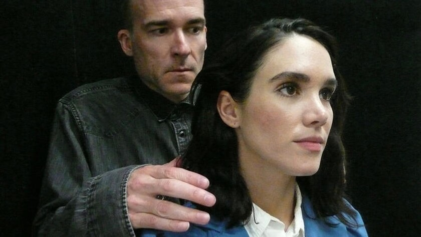 "Stefan Marks and Samantha Smart in ""Space,"""