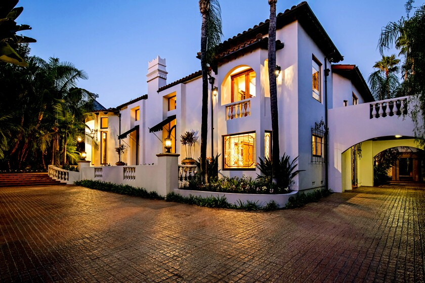 Home of the Week | In Beverly Hills, the romantic stylings of Wallace Neff
