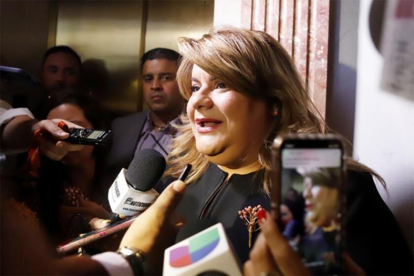 Federación presidentes municipales de P.Rico defiende a González gobernadora
