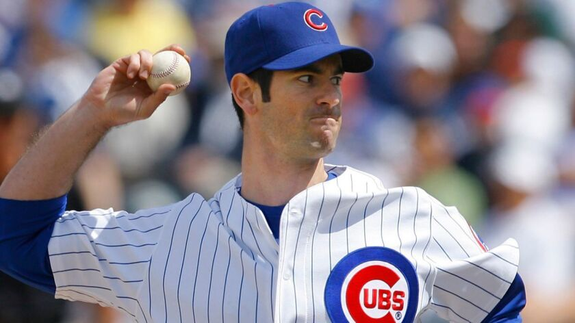 Former Cubs pitcher Mark Prior has worked for the Padres' front office the last four seasons.