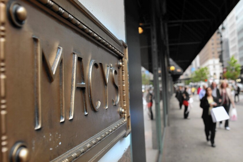 After a disappointing holiday shopping season, Macy's is seizing the moment now to exit malls, where its sales are likely falling or flat, analysts said. Above, the chain's flagship store in New York City.